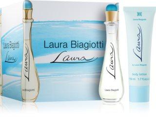 Laura Biagiotti Laura ajándékszett IV. hölgyeknek