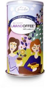 Lavandia Lavandoffee mletá káva s levandulí bio
