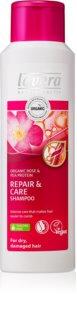 Lavera Repair & Care njegujući šampon za suhu i oštećenu kosu
