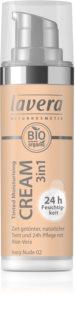 Lavera Tinted Cream crema idratante tonificante 3 in 1