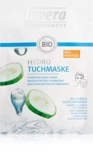 Lavera Sheet Mask masque hydratant en tissu
