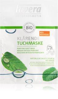 Lavera Sheet Mask maschera detergente