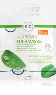 Lavera Sheet Mask masque purifiant