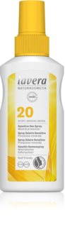 Lavera Sun Sensitiv spray solaire SPF 20