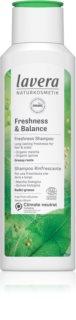 Lavera Freshness & Balance erfrischendes Shampoo für fettiges Haar und Kopfhaut