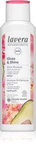 Lavera Gloss & Shine мягкий очищающий шампунь для придания блеска и мягкости волосам