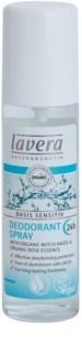 Lavera Basis Sensitiv deodorant ve spreji