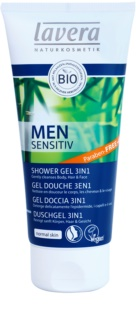 Lavera Men Sensitiv gel de duș 3 in 1