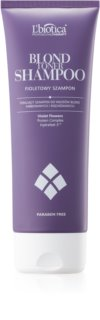 L'biotica Professional Therapy Blond purple toning shampoo for Blonde Hair