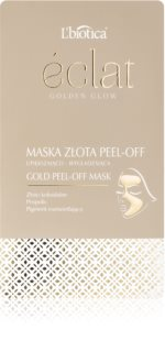 L'biotica Masks Golden Glow masque peel-off visage