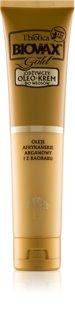L'biotica Biovax Gold crème à l'huile pour des cheveux parfaits