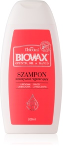 L'biotica Biovax Opuntia Oil & Mango regenerační šampon pro poškozené vlasy