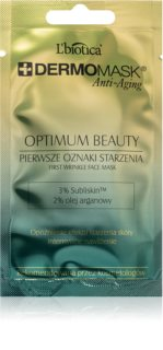 L'biotica DermoMask Anti-Aging маска за лице с противобръчков ефект 35+