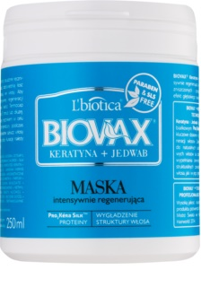 L'biotica Biovax Keratin & Silk Regenerating Mask For Coarse Hair