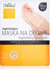 L'biotica Masks regenerační maska na ruce ve formě rukavic