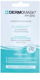 L'biotica DermoMask Anti-Aging masque visage anti-taches pigmentaires
