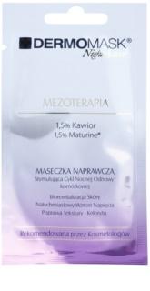 L'biotica DermoMask Night Active masque effet de mésothérapie