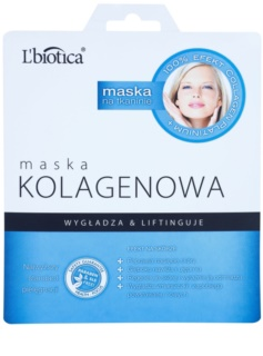 L'biotica Masks Collagen Platinium masque tissu au collagène