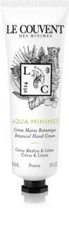 Le Couvent Maison de Parfum Botaniques  Aqua Minimes kézkrém unisex