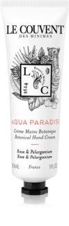Le Couvent des Minimes Botanical  Aqua Paradisi crème mains mixte