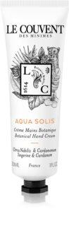 Le Couvent Maison de Parfum Botaniques  Aqua Solis crème mains mixte