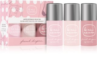 Le Mini Macaron French Lingerie kit de vernis à ongles