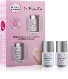 Le Mini Macaron Le Frenchie Cosmetic Set (For French Manicure) for Women