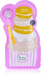 Le Mini Macaron Vanilla Almond vlažilna maska za roke