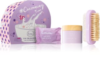 Le Mini Macaron Cocooning Time Cosmetic Set XII. (for Nails) for Women
