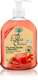 Le Petit Olivier Poppy Perfume sabonete líquido
