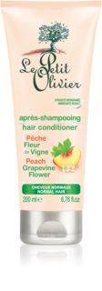 Le Petit Olivier Peach & Grapevine Flower regenerator za normalnu kosu