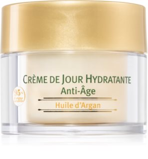 Le Petit Olivier Argan Oil crema de día hidratante contra el envejecimiento de la piel con aceite de argán
