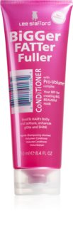 Lee Stafford Bigger Fatter Fuller Volume Condicioner For Fine Hair And Hair Without Volume