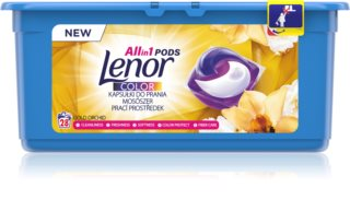 Lenor Gold Orchid laundry pods