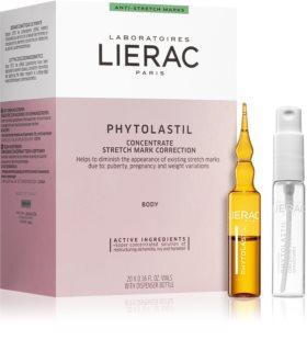 Lierac Phytolastil Ampullen gegen Dehnungsstreifen