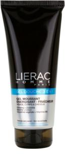 Lierac Homme τζελ για ντους για πρόσωπο, σώμα και μαλλιά για άντρες
