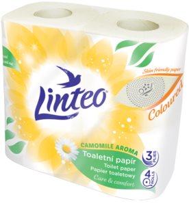 Linteo Care & Comfort Camomile papier toilette