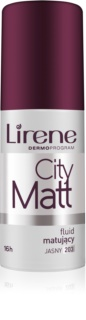 Lirene City Matt mattierendes Make up-Fluid mit glättender Wirkung