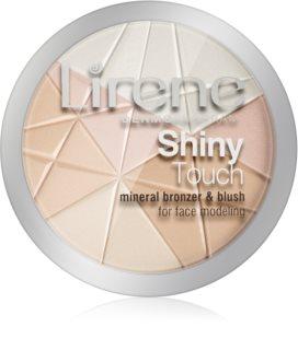 Lirene Shiny Touch puder za osvetljevanje za obraz in oči