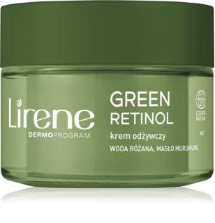 Lirene Green Retinol 50+ ανυψωτική κρέμα νύχτας ενάντια στη γήρανση της επιδερμίδας