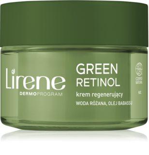 Lirene Green Retinol 60+ regenerierende Nachtcreme zur Verjüngung der Haut