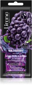 Lirene Masks Wildberry Smoothie hidratáló arcmaszk