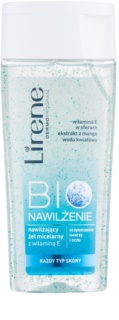 Lirene Bio Hydration gel limpiador micelar para rostro y ojos