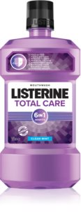 Listerine Total Care Clean Mint collutorio per una protezione completa dei denti 6 in 1