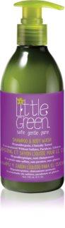 Little Green Kids šampon a sprchový gel 2 v 1 pro děti