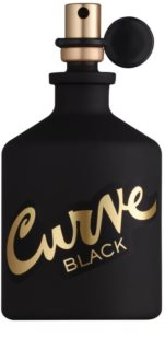 Liz Claiborne Curve  Black Eau de Cologne for Men
