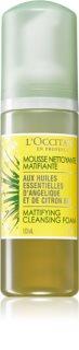 L'Occitane Angélique pjena za čišćenje za balansiranje stvaranja sebuma