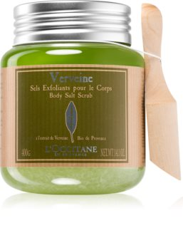L'Occitane Verveine Body Scrub With Salt