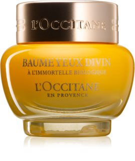 L'Occitane Immortelle Divine Nourishing Night Balm to Treat Swelling and Dark Circles