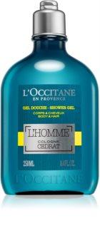 L'Occitane Homme żel pod prysznic do ciała i włosów